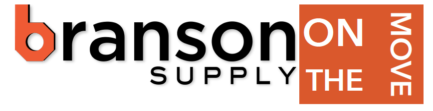 [PRESS RELEASE]                                  Branson Supply goes ON THE MOVE.              We go where life takes you.