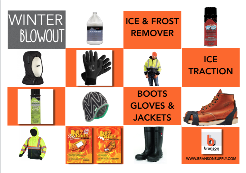 Branson Supply: Stay safe and save BIG with our WINTER BLOWOUT!